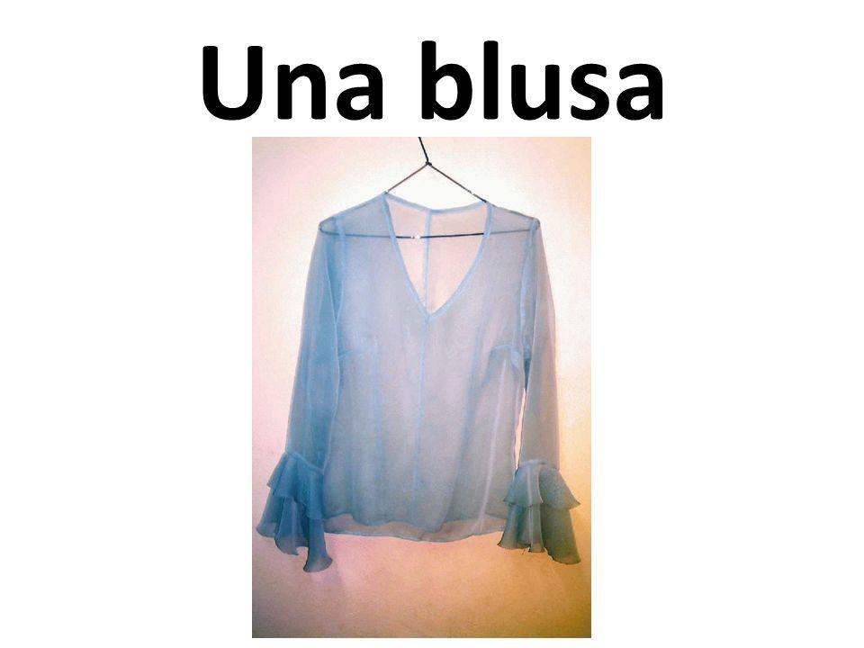 Una blusa
