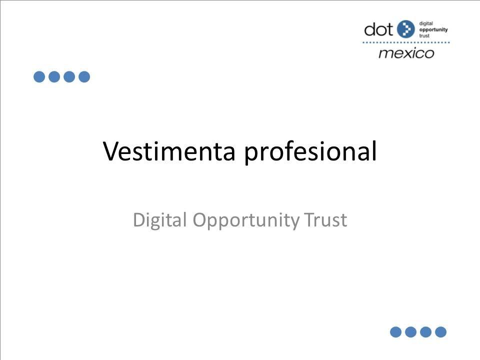 Vestimenta profesional Digital Opportunity Trust