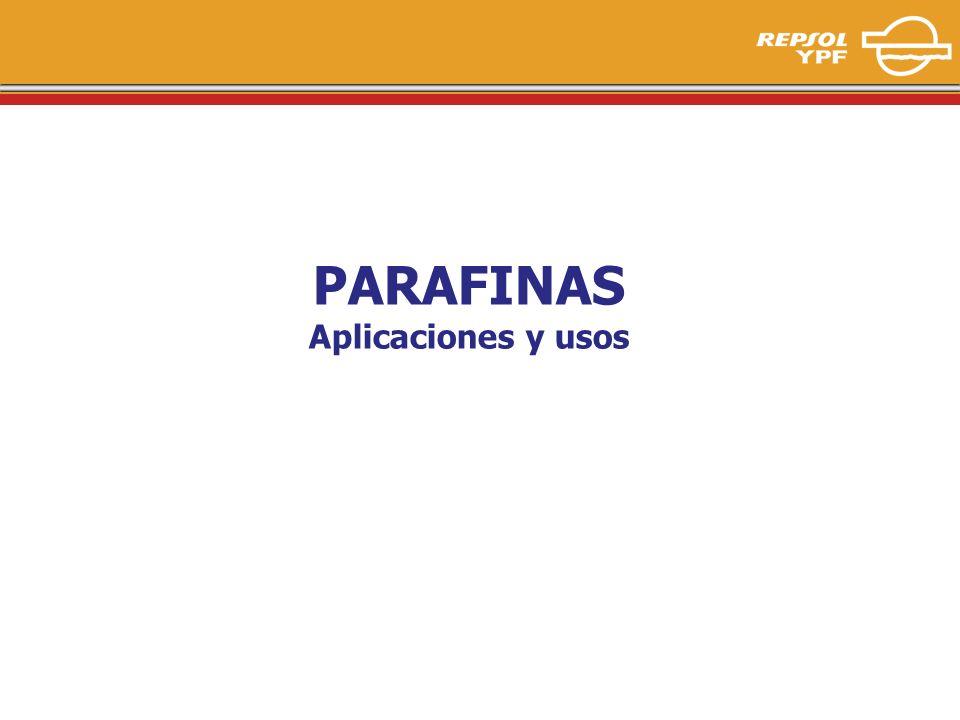 1 PARAFINAS Aplicaciones y usos