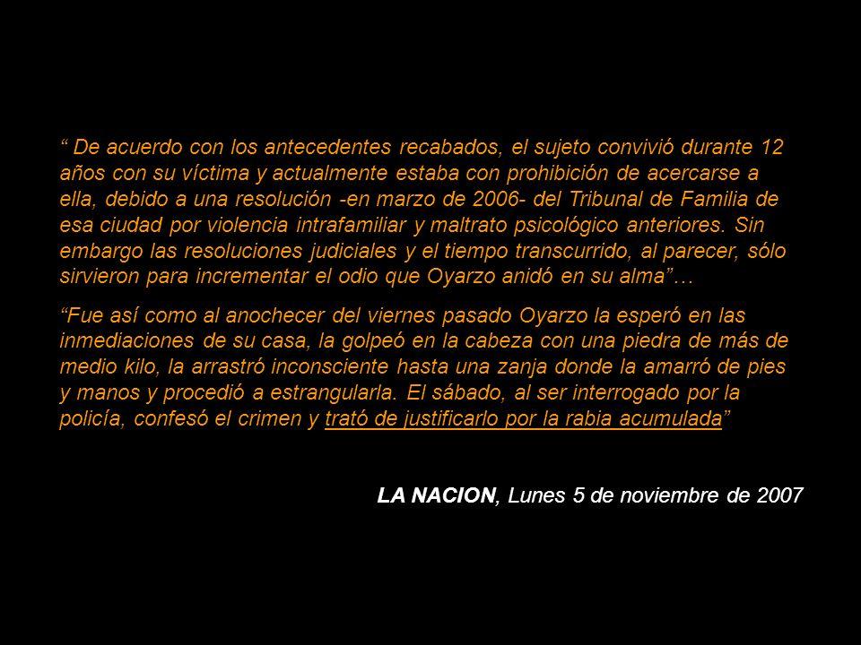 SANTIAGO.- No me cumplió como mujer , así explicó Juan Astorga Rosales la cuchillada que le propinó en el cuello a su pareja, identificada como Yolanda Morales, en la ciudad de Melipilla.