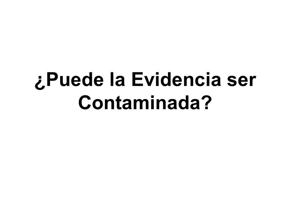Rotulación de Evidencia Métodos de marcar el material de acuerdo al tipo de evidencia Se debe asignar un identificador único a cada artículo de evidencia