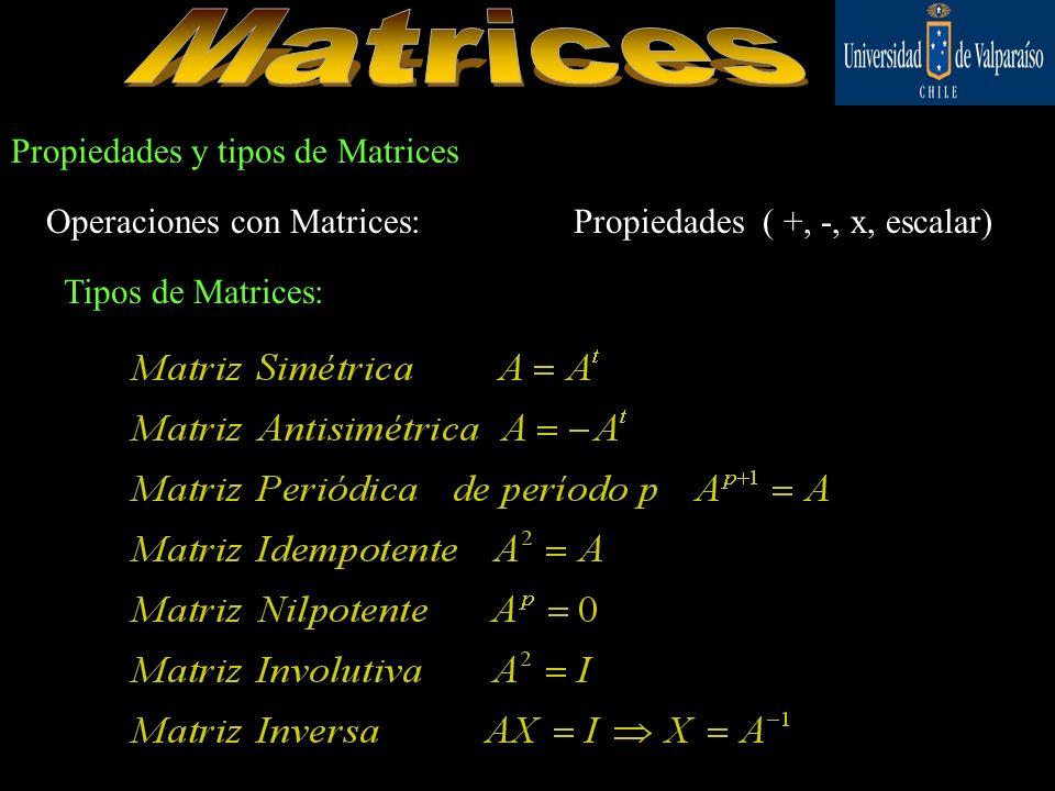 Una matriz, es un arreglo rectangular de números Reales, encerrados en grandes paréntesis rectangulares.