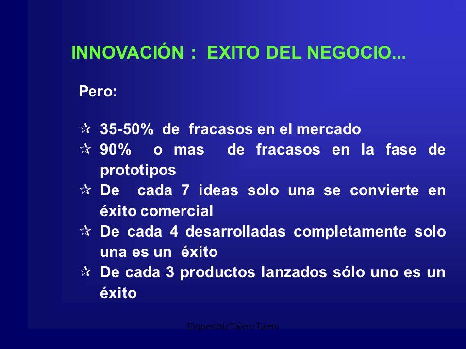 Emperatriz Talero Talero Ideas de Negocio Una buena idea de negocio debe poseer al menos las siguientes características: - Debe responder a una necesidad de los clientes.