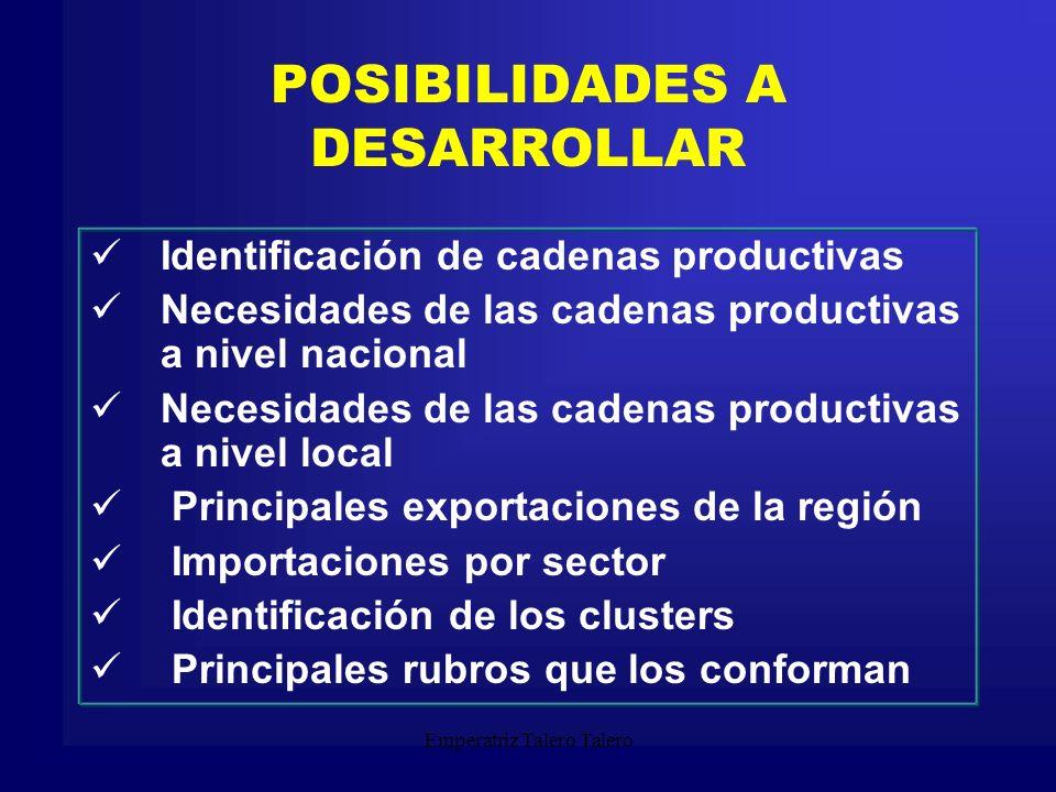 Emperatriz Talero Talero CARACTERÍSTICAS EN EL PROCESO DE DESARROLLO DE LAS IDEAS DE NEGOCIO En el proceso de desarrollo de las ideas de negocio se deben tener en cuenta las siguientes características fundamentales: a.