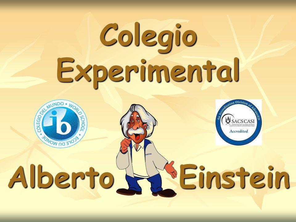 El Preescolar Colegio Alberto Einstein está formado por : Prekindergarten para niños de 4 a 5 años Prekindergarten para niños de 4 a 5 años Kindergarten o 1ro.