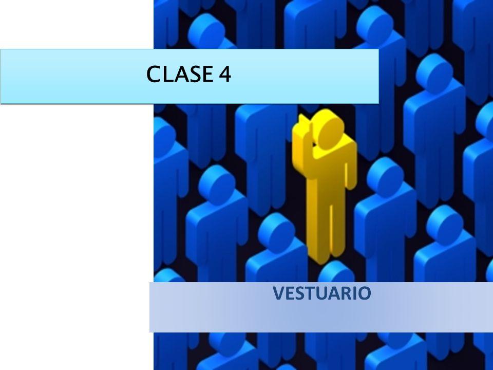 CLASE 4 VESTUARIO
