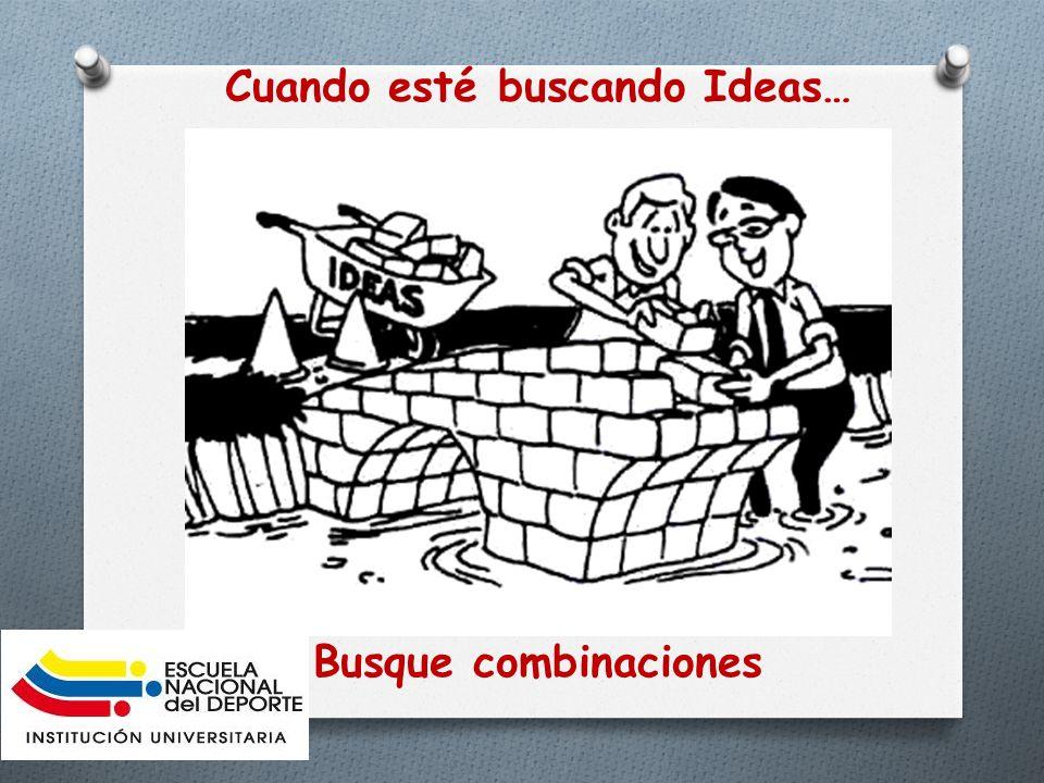 Ideas de Negocio Una buena idea de negocio debe poseer al menos las siguientes características: O - Debe responder a una necesidad de los clientes.