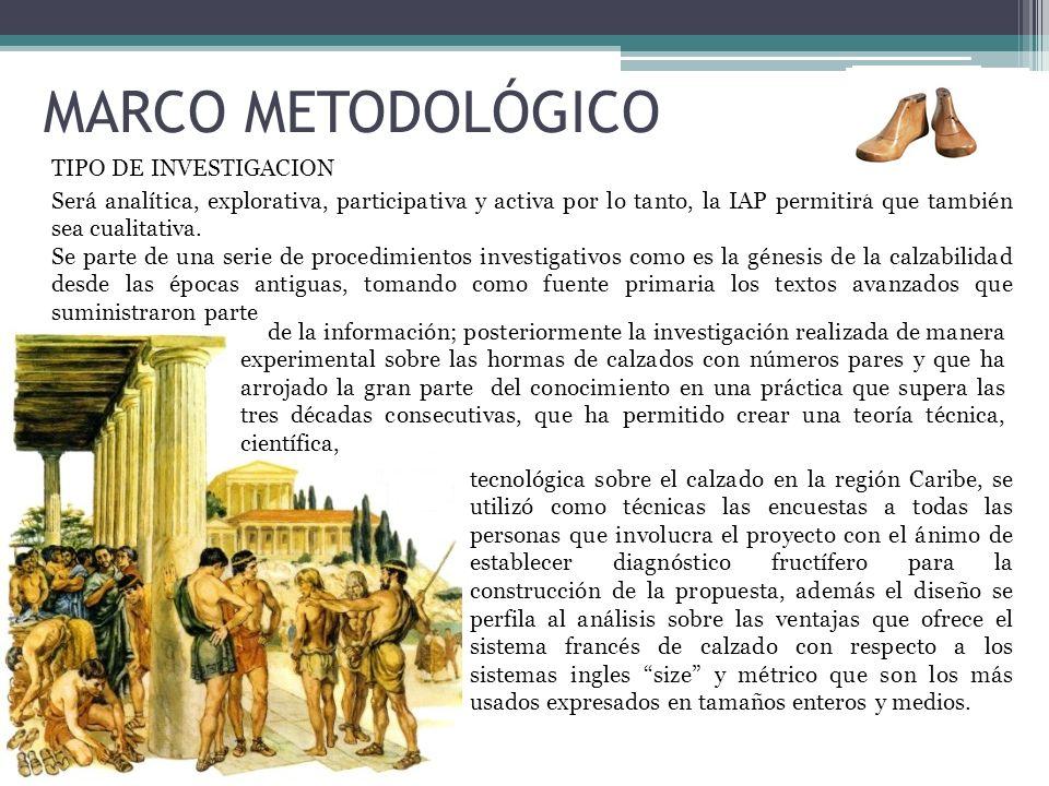 MARCO METODOLÓGICO TIPO DE INVESTIGACION Será analítica, explorativa, participativa y activa por lo tanto, la IAP permitirá que también sea cualitativ