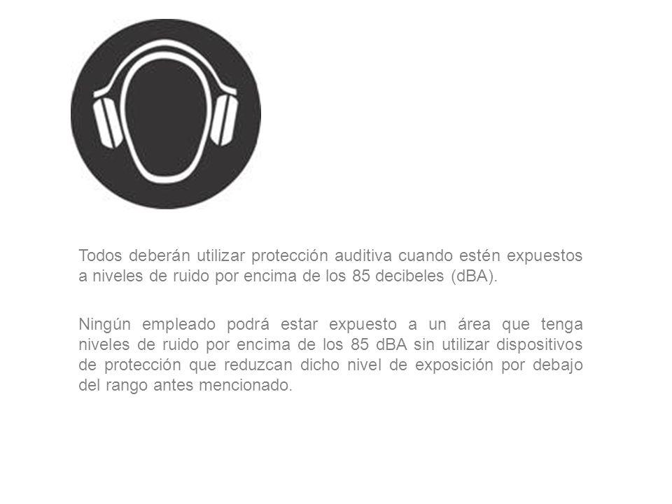 PROTECCIÓN DEL OÍDO Para su elección se precisa conocer las características del ruido en cuestión y una vez determinadas las frecuencias dominantes, s