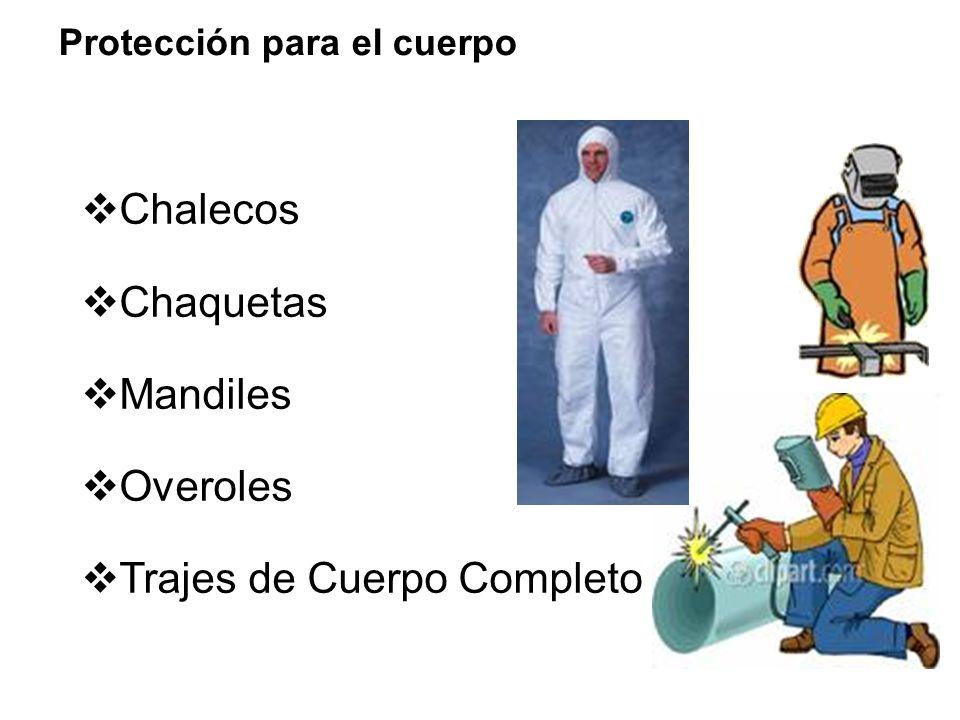 Calor Acidos Impactos Radiación Cortaduras Salpicaduras de líquidos o metales calientes Riesgos para el cuerpo