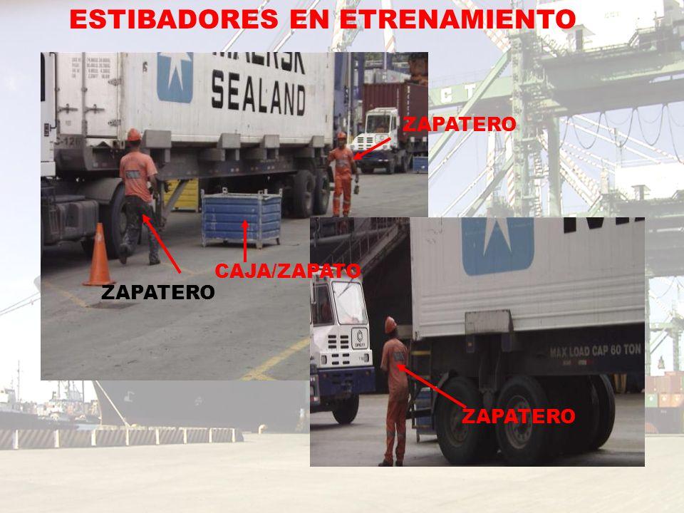 ZAPATERO CAJA/ZAPATO ZAPATERO ESTIBADORES EN ETRENAMIENTO