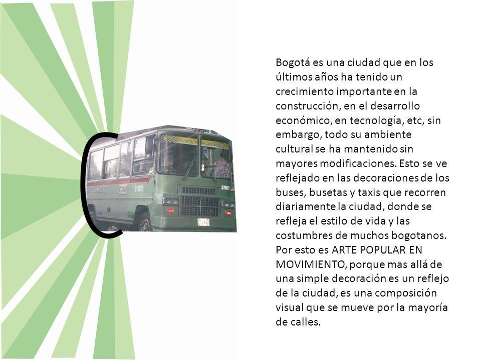 Bogotá es una ciudad que en los últimos años ha tenido un crecimiento importante en la construcción, en el desarrollo económico, en tecnología, etc, s