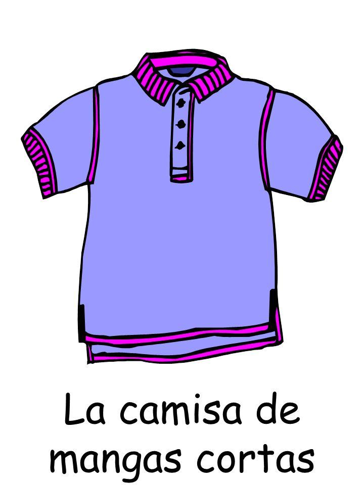 La camisa de mangas cortas