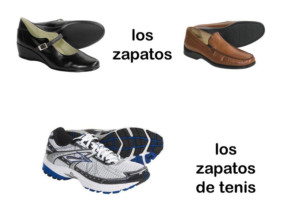 los zapatos de tenis los zapatos