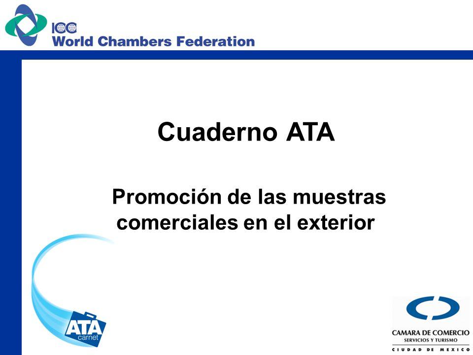 ¿Qué es el cuaderno ATA Es un documento aduanero internacional el cual permite la exportación temporal de mercancías.
