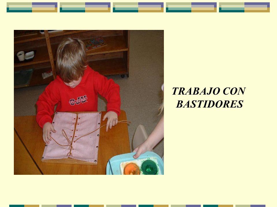 TRABAJO CON BASTIDORES