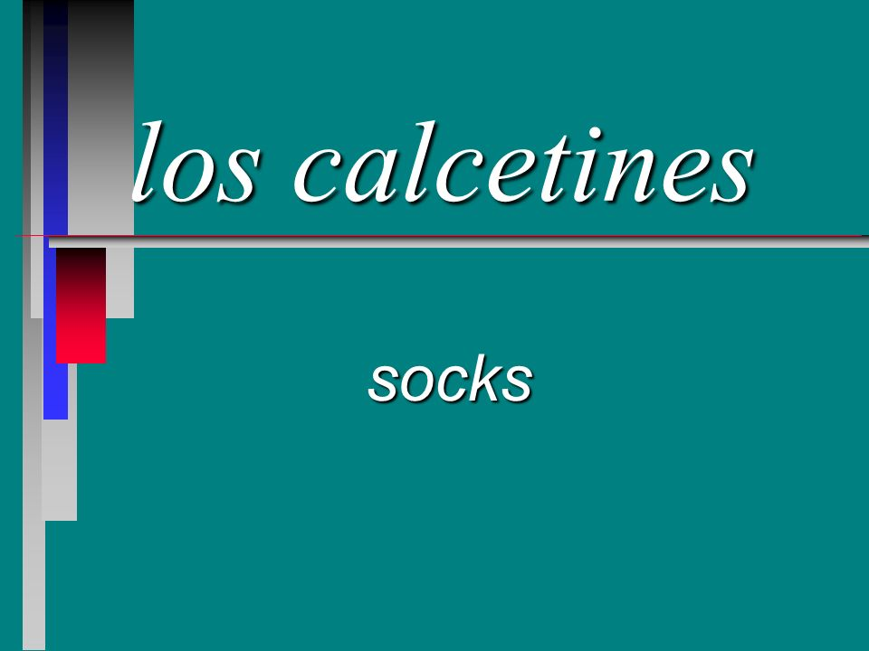 los calcetines socks