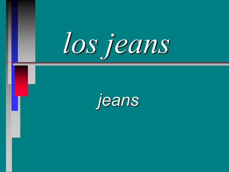 los jeans jeans
