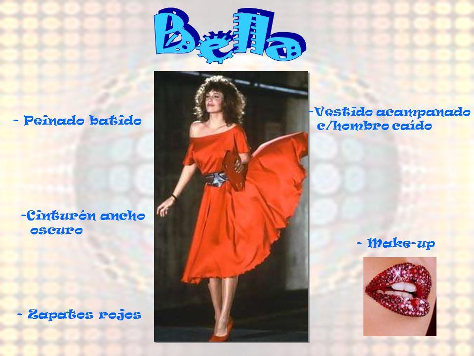 -Falda con vuelo (fucsia) -Musculosa rosa con lentejuelas (fucsia) - Medias (rosa fuerte) - Peinado -Corona