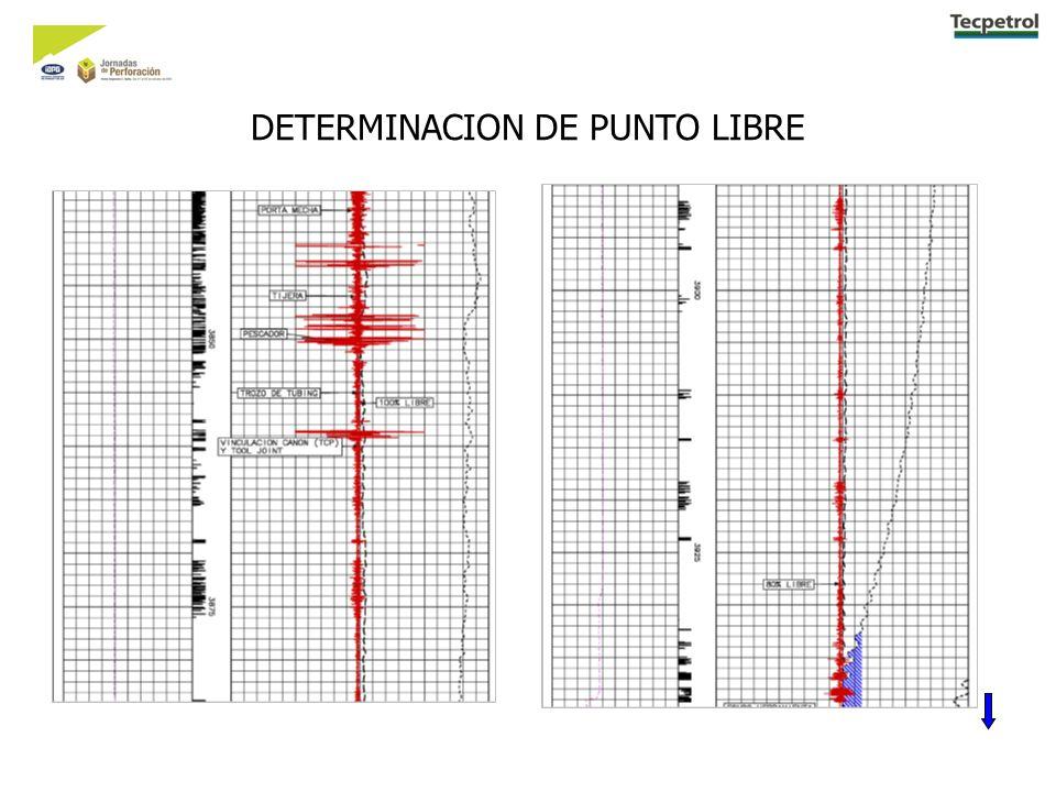 DETERMINACION DE PUNTO LIBRE