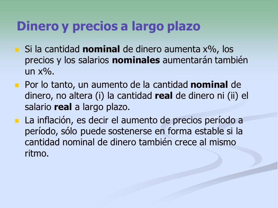 Sustituyendo en la fórmula que define a r : 17 La variable r es la tasa de interés real.