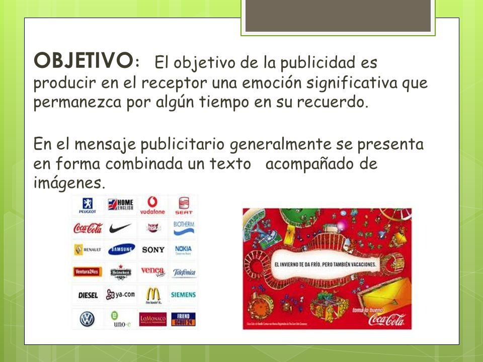 CARACTERÍSTICAS DE LOS TEXTOS PUBLICITARIOS.- 1.