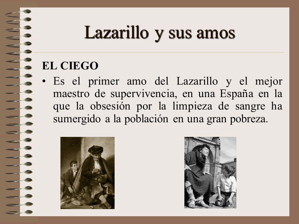 El Tema del Vagabundo Absolutamente este tema recae sobre Lázaro y el ciego. El ciego le enseña a Lázaro que el mendigar y vagabundear es una forma ma