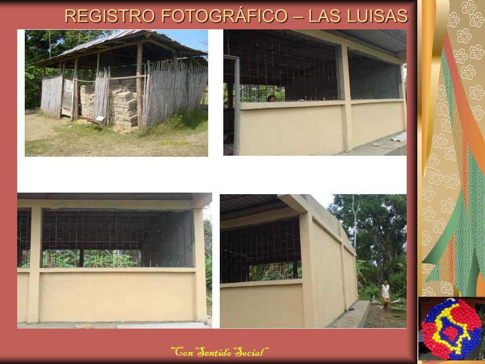 REGISTRO FOTOGRÁFICO – LAS LUISAS Con Sentido Social