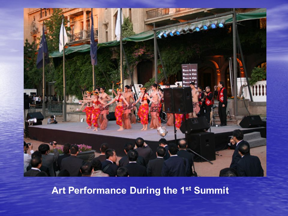 Art Performance During the 1 st Summit