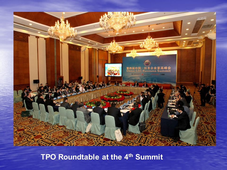 TPO Roundtable at the 4 th Summit