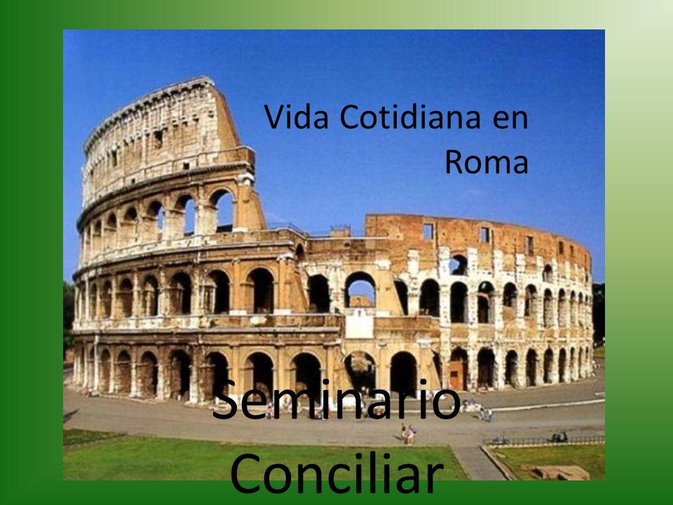 1 - Un ciudadano romano común, con su túnica, su toga encima y los perones.