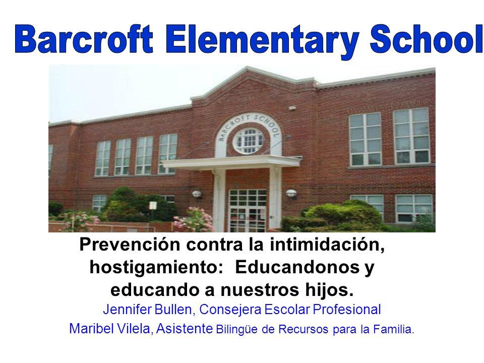 Prevención contra la intimidación, hostigamiento: Educandonos y educando a nuestros hijos.