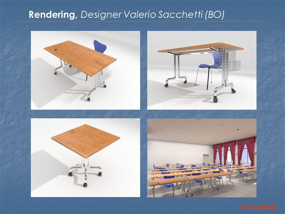 Rendering, Designer Valerio Sacchetti (BO) Salta dettagli