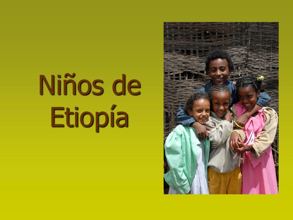 Niños de Etiopía