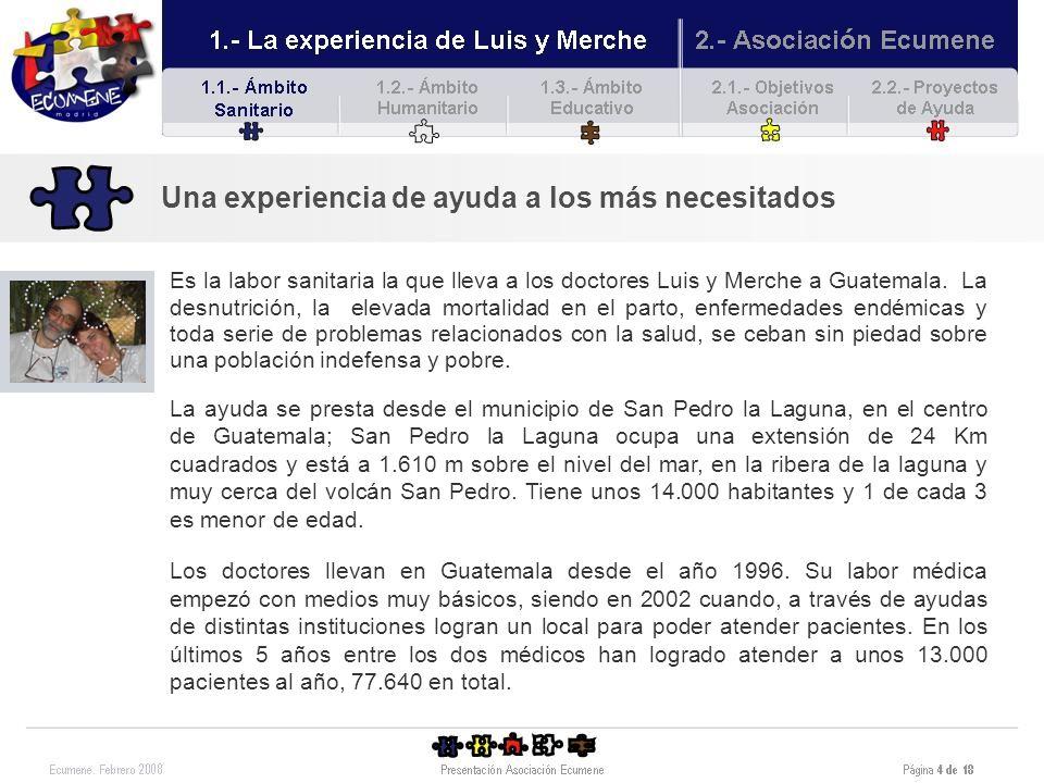 Asociación Ecumene.Proyectos 2008.