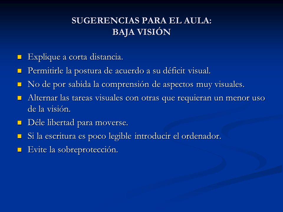INTERVENCIÓN EN EL AULA: UN CASO PRÁCTICO Programa de atención temprana: Ajuste al déficit visual.