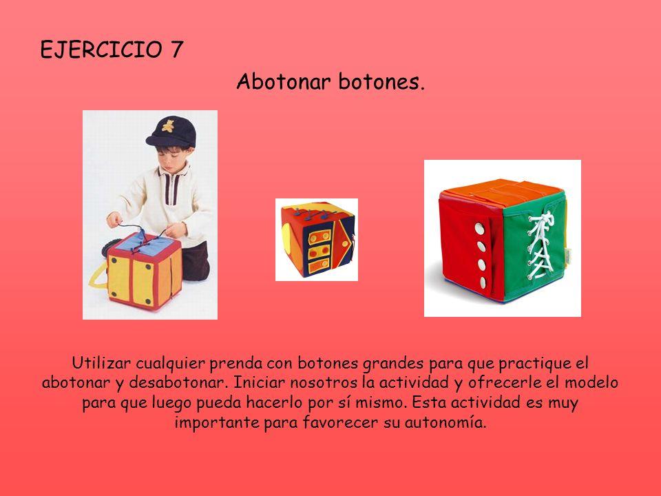 EJERCICIO 7 Abotonar botones.