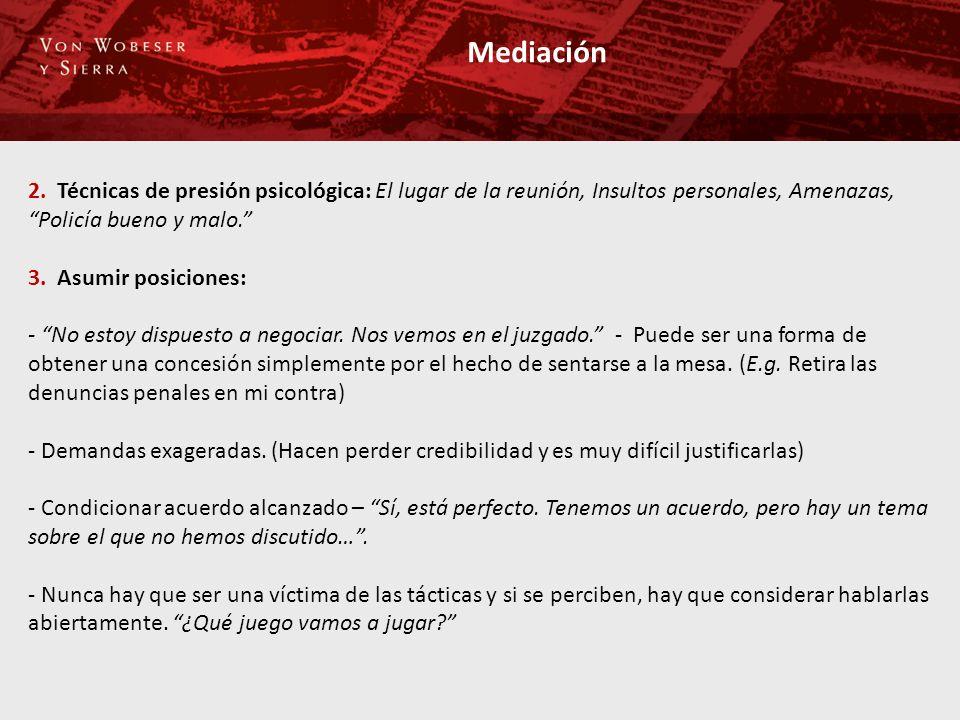 Mediación 2.