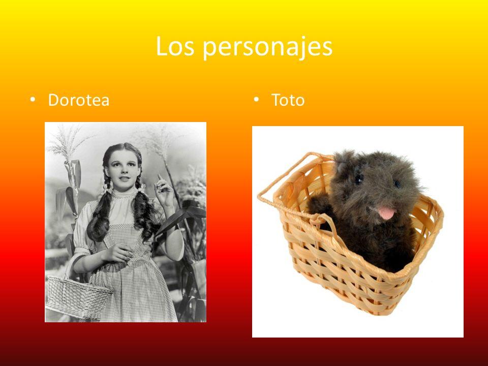 Los personajes Dorotea Toto