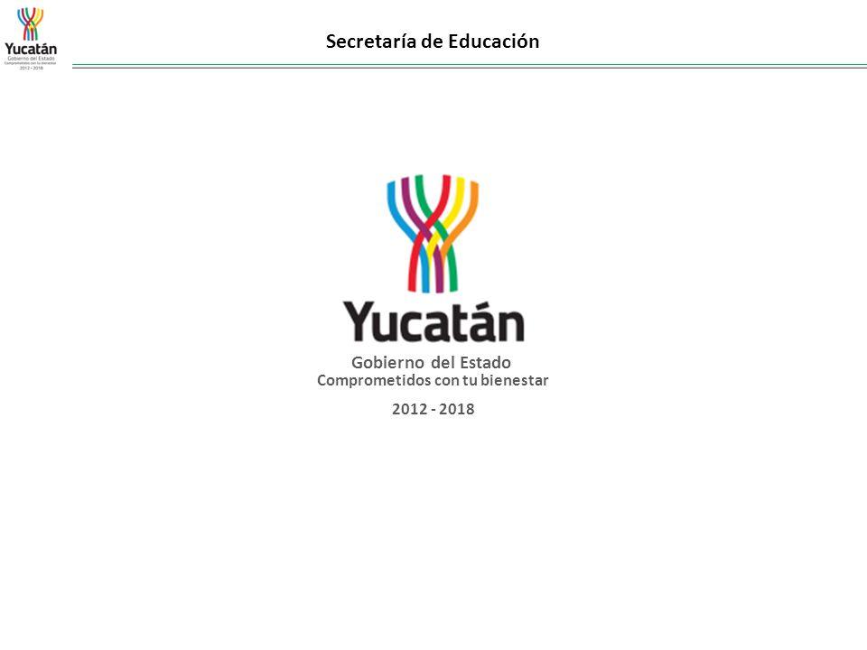 Gobierno del Estado Comprometidos con tu bienestar 2012 - 2018