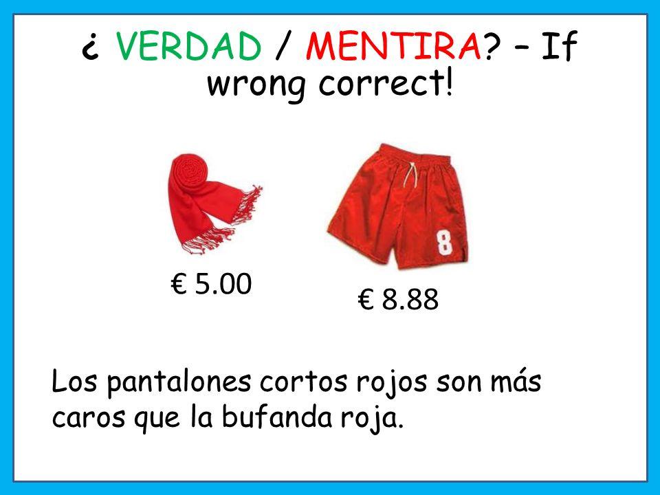 8 30 Comparemos Ext. Can you add the colour too when comparing? ¡En las pizarras!