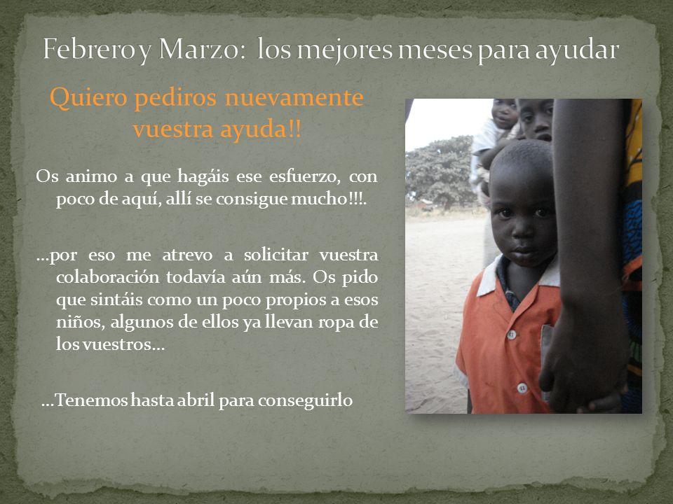 Con tan sólo 2 de cada uno de nosotros, podremos conseguir 700 con la aportación de Juste y de esta manera amueblaremos y pintaremos la escuela de Kanuma… Tenemos de plazo hasta el día el día 29 de marzo 2013.