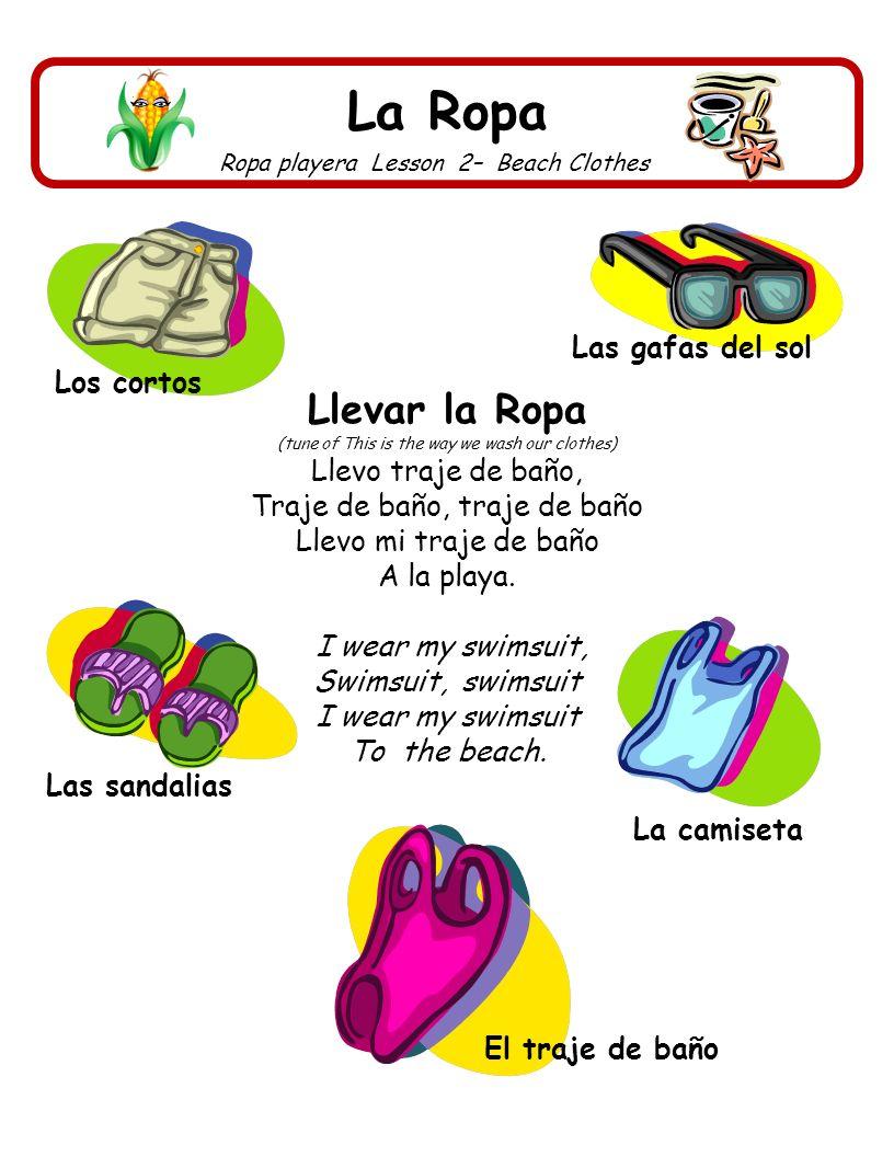 La Ropa Hace Frío Lesson 3 – It is cold.