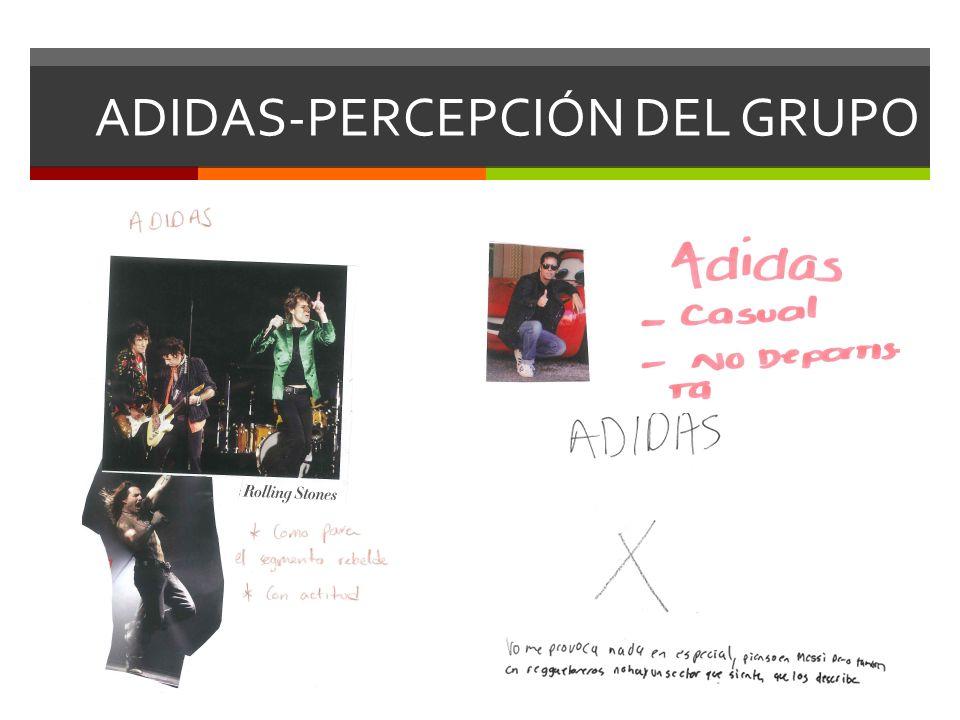 ADIDAS-PERCEPCIÓN DEL GRUPO