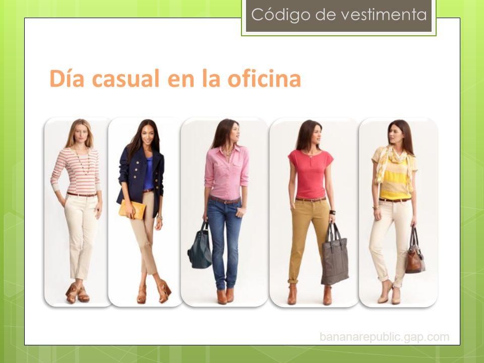 Código de vestimenta Día casual en la oficina bananarepublic.gap.com
