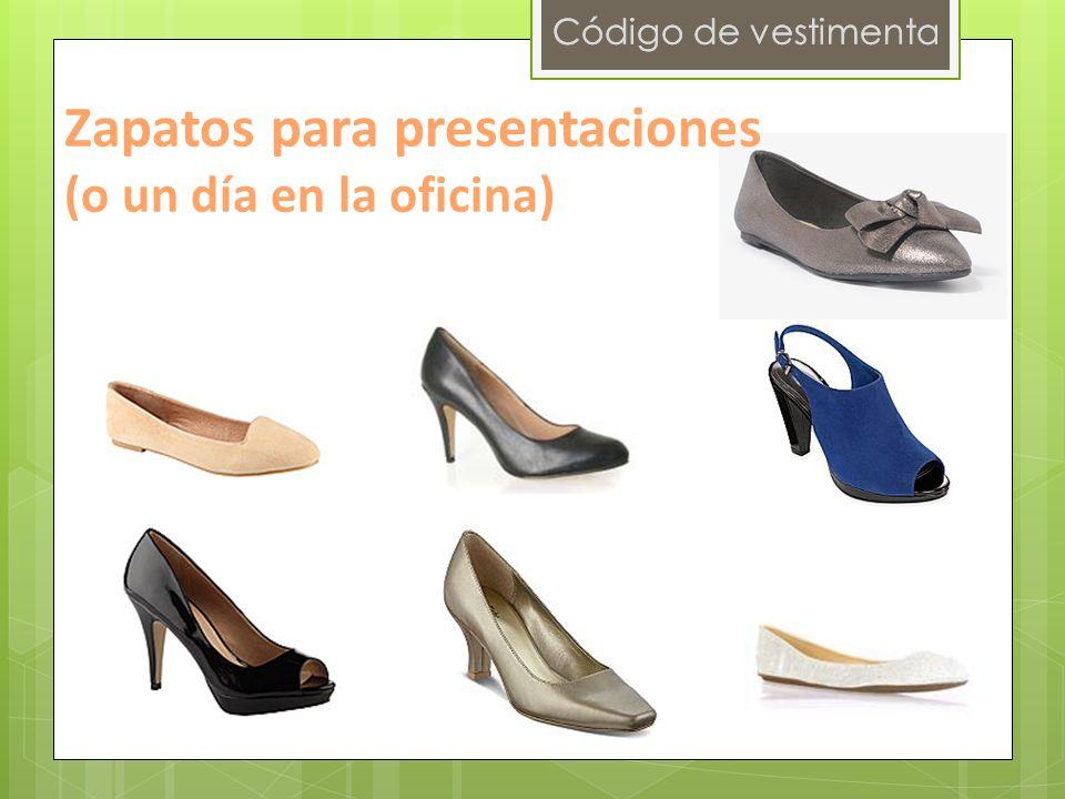 Código de vestimenta Zapatos para presentaciones (o un día en la oficina)