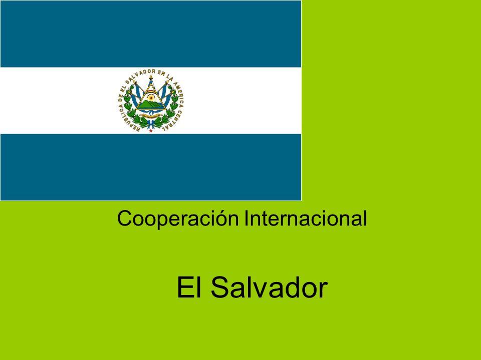 El Salvador Cooperación Internacional