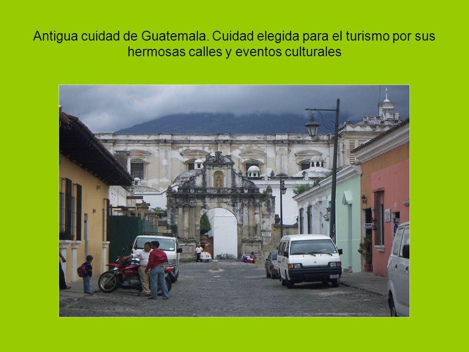 Antigua cuidad de Guatemala.