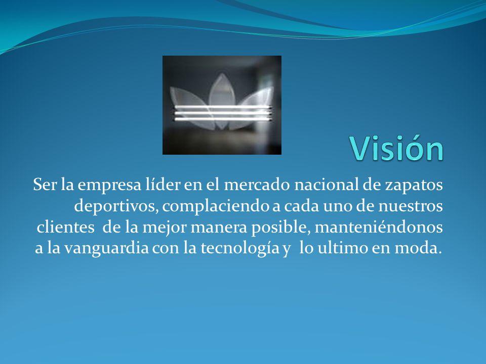 Sport Shoes Distribuidor exclusivo de la marca Adidas HISTORIA ESTA EMPRESA NACE CON EL OBJETIVO DE LLEVAR ZAPATOS DE MARCA ADIDAS A EL SALVADOR Y PARA FACILITAR A TODOS LOS DEPORTISTAS LA ADQUISICION DE IMPLEMENTOS DEPORTIVOS ADECUADOS A LAS EXIGENCIAS QUE TENGAN AL REALIZAR DEPORTES A NIVEL PROFESIONAL.