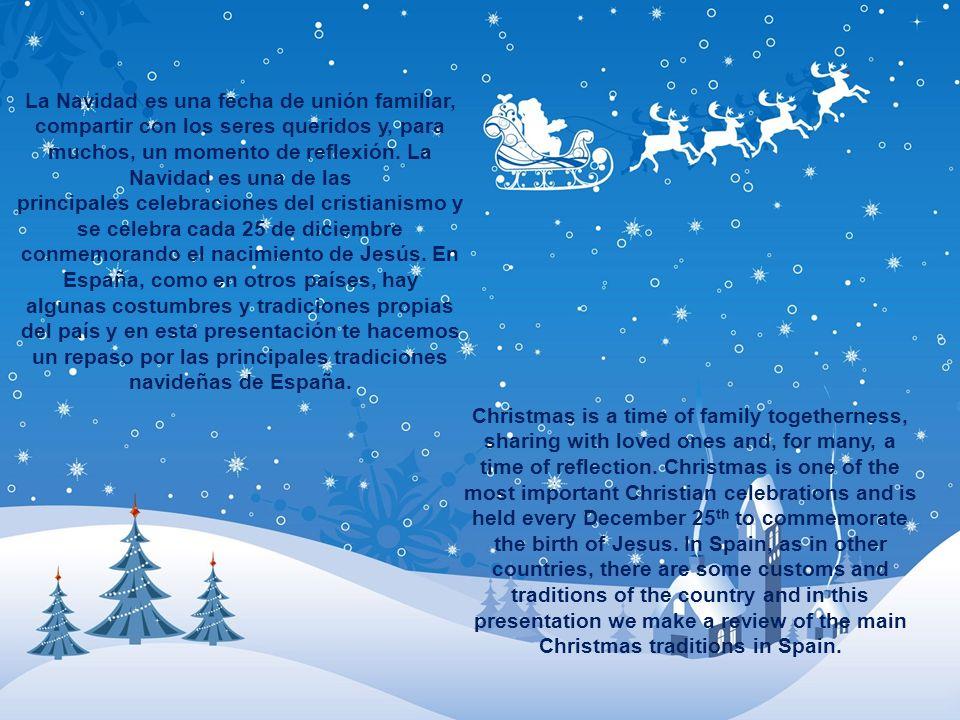 La Navidad es una fecha de unión familiar, compartir con los seres queridos y, para muchos, un momento de reflexión. La Navidad es una de las principa
